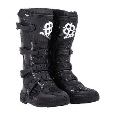 ARC Corona Motocross Boot - Black - Size 12 Mens - Includes Socks