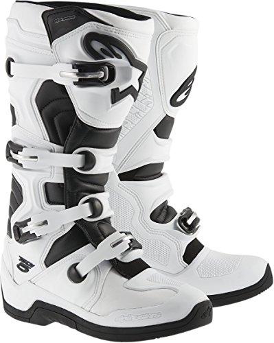 Alpinestars Tech 5 Mens WhiteBlack Motocross Boots - 8