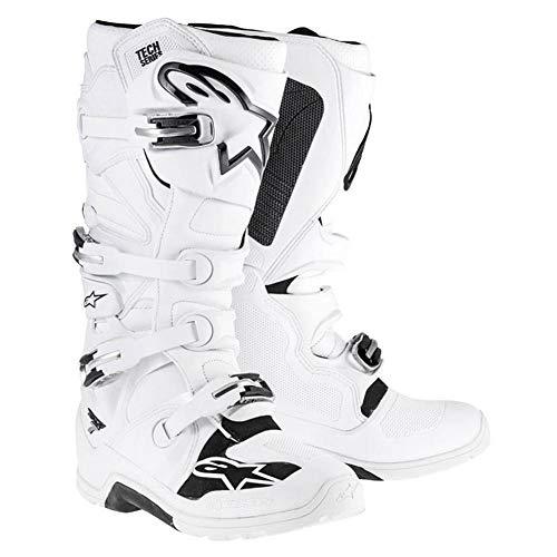 Alpinestars Tech 7 Mens White Motocross Boots - 16