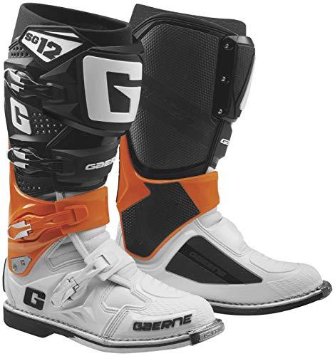 Gaerne New 2019 SG-12 Mens Motocross Boots OrangeBlackWhite 11