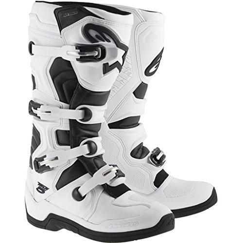 Alpinestars Adult MX Tech 5 Motocross Boots White Size 9