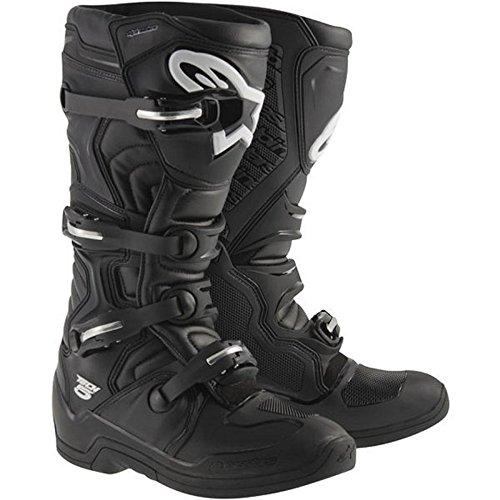 Alpinestars Tech 5 Offroad Motocross Boots Black Mens Size 10