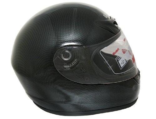 Lunatic L-2006CF-14 Full Face Helmet - Carbon Fiber look - Medium