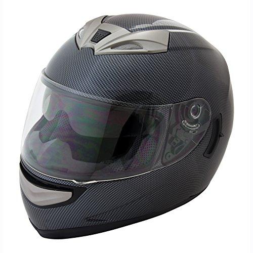 Raider Graphite X Full Face Helmet Carbon Fiber Graphic Large