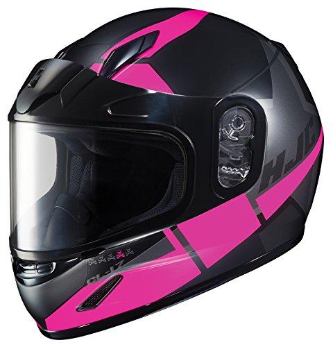 HJC Helmets Unisex-Child Full-face-Helmet-Style CL-YSN Boost Dual Lens MC-8SF Large