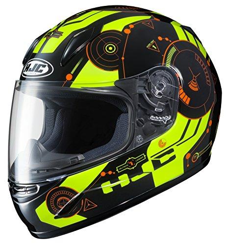 HJC Unisex-Child Full-face-Helmet-Style CL-Y Simitic MC-4H Small