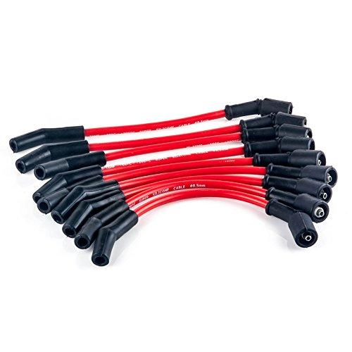 85 mm LSx LS1 LS2 LS3 LS6 LS7 High Heat Spark Plug Ignition Wires Set