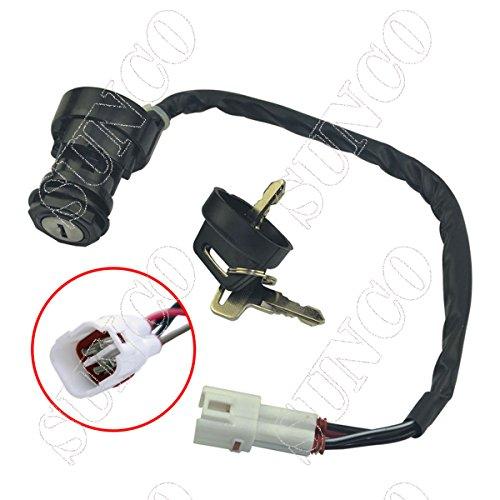 SUNCO Ignition Key Switch YAMAHA YFZ350 BANSHEE 1995 1996 1997 1998 1999 2000 2001