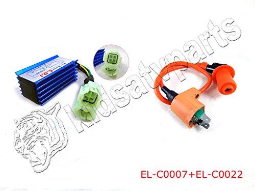 Performance Ignition Coil  Racing Performance 6 Pins CDI Box for GY6 50cc 125cc 150cc Honda XR 50 CRF 50