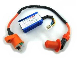 Lumix GC Performance CDI Ignition Coil For Honda Dio Elite SA50 SB50 Spree SYM DD50 Arnada