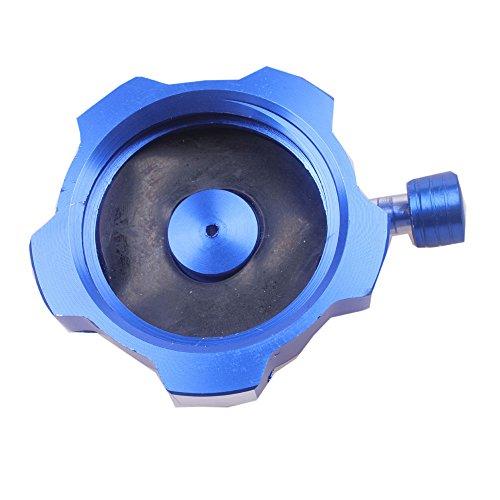 Wingsmoto Fuel Cap Gas Tank Cap CNC Dirt Bike Quad Taotao SSR Coolster Dark Blue