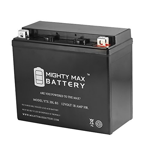 YTX20L-BS Replacement Battery for Kawasaki Jet Ski JS550 550cc 82-85 - Mighty Max Battery brand product