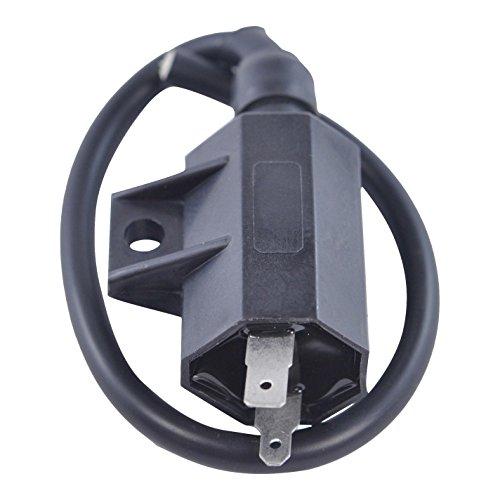 External Ignition Coil For Kawasaki Suzuki KLF KFX KLR KLX KVF LTF LTZ R Bayou Prairie 220 250 300 360 400 700 1985-2014 OEM Repl 21121-1160 21121-1198 21121-1316 K2112-11306 33410-22AV0 33410-42A00