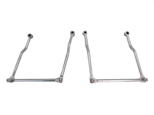 Universal Adjustable Saddlebag Supports - 2002-2009 Kawasaki Mean Streak VN1500  VN1600