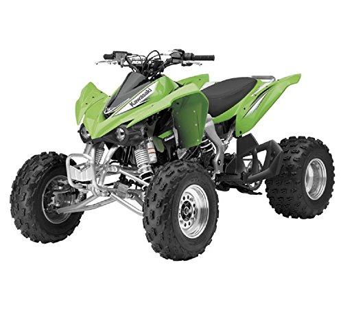 Orange Cycle Parts 112 Scale TOY Green Kawasaki KFX 450R ATV 4-Wheeler Die-Cast Replica by NewRay 57503