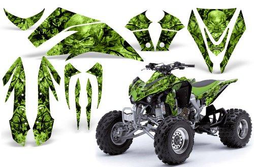 CreatorX Kawasaki Kfx 450 Graphics Kit Decals Stickers Inferno Green