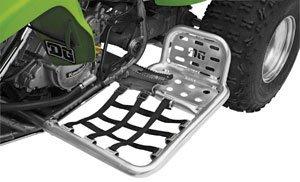 DG Performance 607-8450 - Alloy Nerf Bars with Heel Guard - Aluminum fits Kawasaki KFX 450 2008 - 2010