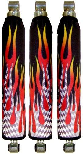 Kawasaki kfx 450 Gradiant Flame Shock Cover