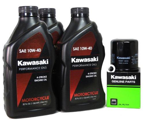 2012 Kawasaki NINJA 650 Oil Change Kit