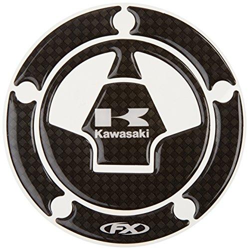 Factory Effex 15-58120 Carbon Fiber Gas Cap Dome Sticker  for Kawasaki Ninja 650 Ninja ZX-6 Ninja ZX-1