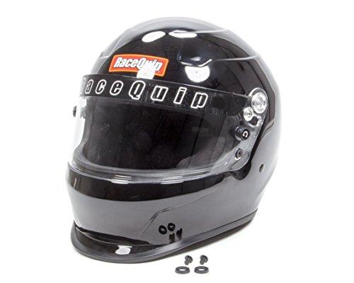 RaceQuip 273003 Gloss Black Medium PRO15 Full Face Helmet Snell SA-2015 Rated