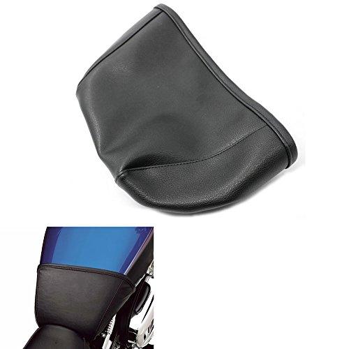 Alpha Rider Black 45 Gallon Vinyl Fuel Tank Bra Shield Sheet Cover Protector For Harley SuperLow XL883L 2011-2017  SuperLow 1200T XL1200T 2014-2017  Sportster 883 Custom XL883C 2004-2009