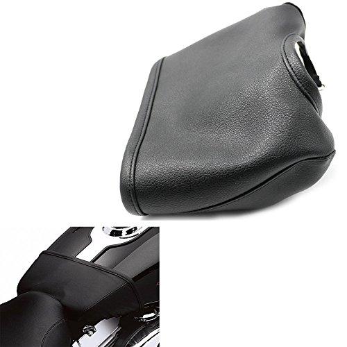 Alpha Rider Black Vinyl Fuel Tank Bra Shield Sheet Cover Protector For Harley Wide Glide FXDWG 2010-2017  Super Glide FXD 2010  Super Glide Custom FXDC 2010-2014