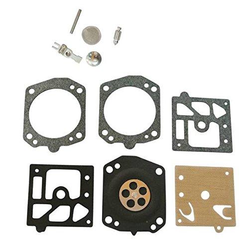 JRL Carburetor Repair Rebuild Overhaul Kit 4 Walbro K24-HDA K24HDA Fit HUSKY 359 357