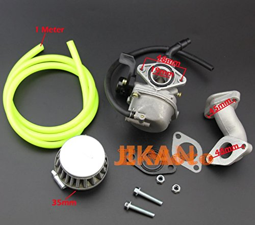Annpee 19mm PZ19 carb carburetor Air Filter Carburetor Rebuild Kit for Honda XRCRF 50 70 90 110 125 150cc 4 Wheeler Quad Bikes Carb