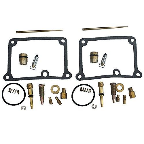 KIPA Carb Carburetor Rebuild Kit For YAMAHA Banshee 350 YFZ350 YFZ350SE YFZ350LE YFZ 350 ATV Quad 1988-2006