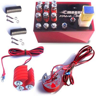 Magnum Magic-Spark Plug Booster Performance Kit Suzuki Boulevard C50 VL800 Ignition Intensifier - Authentic