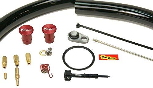 Tokyomods 92-003 Complete Smog Elimination and Carburetor Performance Kit Black Vent Hose