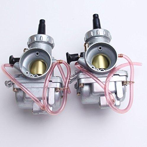 New Two Carburetors For Yamaha Banshee YFZ350 1987-2006 ATV Carbs 29mm