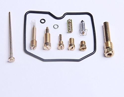 New Carburetor Repair Kit Carb Rebuild Kit For Kawasaki KEF300 Lakota 300 1995-2003
