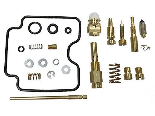 Outlaw Racing OR4176 ATV Carburetor Carb Rebuild Kit for DVX400 KFX400 LTZ400 QUADSPORT Z
