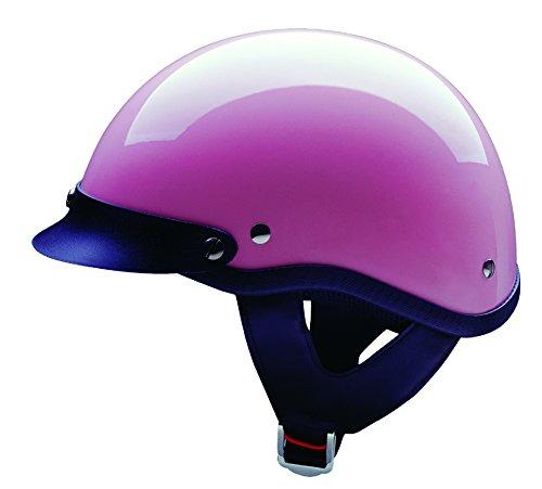 HCI HCI-100 Half Helmet with Visor Gloss Pink Small