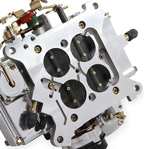 Holley 0-80457sa Aluminum 600 CFM Four-Barrel Street Carburetor