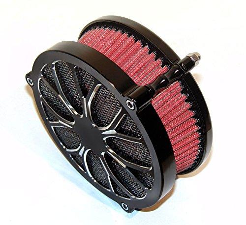 BBUT Black Air Cleaner Intake Filter System Kits For Harley Davidson Dyna FXD FLST FXST 2010 2011 UP