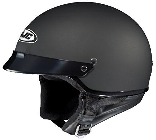 HJC CS-2N Matte Black Half Helmet - 2X-Large