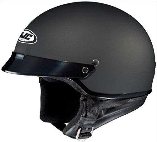 HJC Helmet CS-2N Matte Black Half Helmet - X-Small