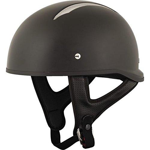 Speed and Strength Unisex Adult SS310 Solid Speed Matte Black Half Helmet 879543