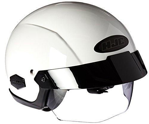 HJC IS-Cruiser Half-Shell Motorcycle Riding Helmet White Medium