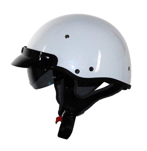 Vega XTV Half Helmet Pearl White Medium
