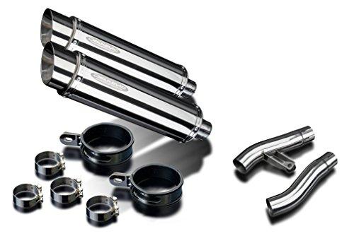 Triumph Trophy 1200 14 Stainless Round Muffler Exhaust 95-97 98 99 00 01 02 0