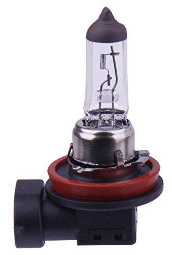 MOTORTOGO White High Beam Headlight Halogen HID Bulb for 2009 APRILIA MOTORCYCLE Mana 850