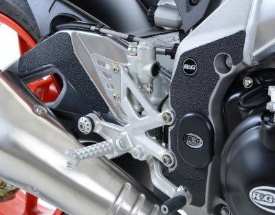 R&G Boot Guard Kit for Select Aprilia Motorcycle Models  5 Piece Kit Swingarm Frame