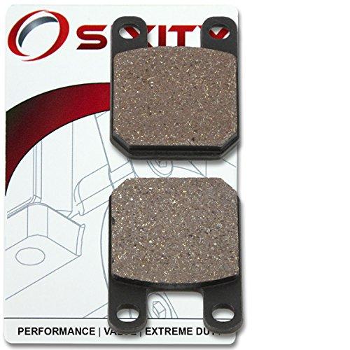 Sixity Front Organic Brake Pads 2002-2005 Peugeot Speedfight 2 X-Team Set Full Kit A C Complete