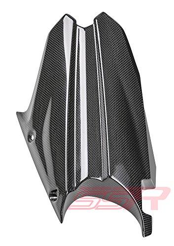 2013-2015 Triumph Street Triple 675  675R 100 Carbon Fiber Fibre Rear Tire Cover Fender Hugger Mudguard Fairing