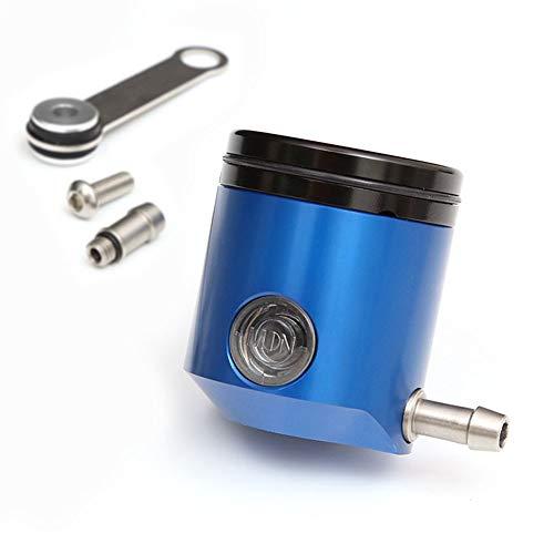 Blue CNC Brake Master Cylinder Reservoir Front Oil Fluid Tank Fit Yamaha YZF R1 R6 YZF 600R Triumph Speed Triple 1050 R