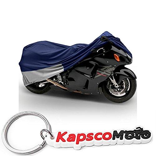 Superior Travel Dust Motorcycle Sport Bike Cover Covers  Fits Up To Length 90 - All Sport Bikes Small To Medium Cruiser Bikes - Yamaha Honda Suzuki Kawasaki Triumph Covers  KapscoMoto Keychain